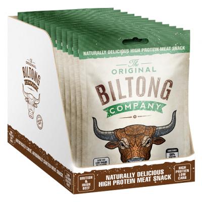 Garlic Biltong 30g Snack Bags